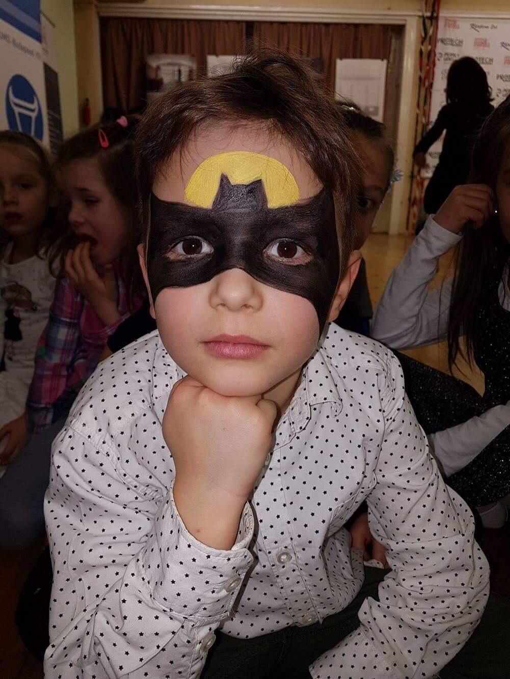 Marci Batmanként :)